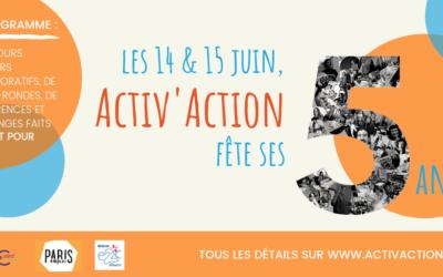 Activ'Action a 5 ans !