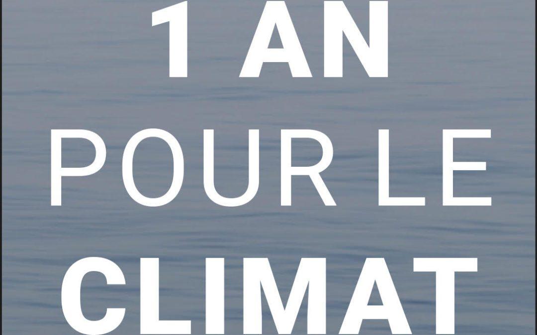 1 An Pour le Climat