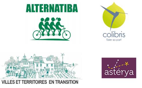 Partenaires du Boost : Colibris, Alternatiba, Villes et Territoires en Transition, Asterya
