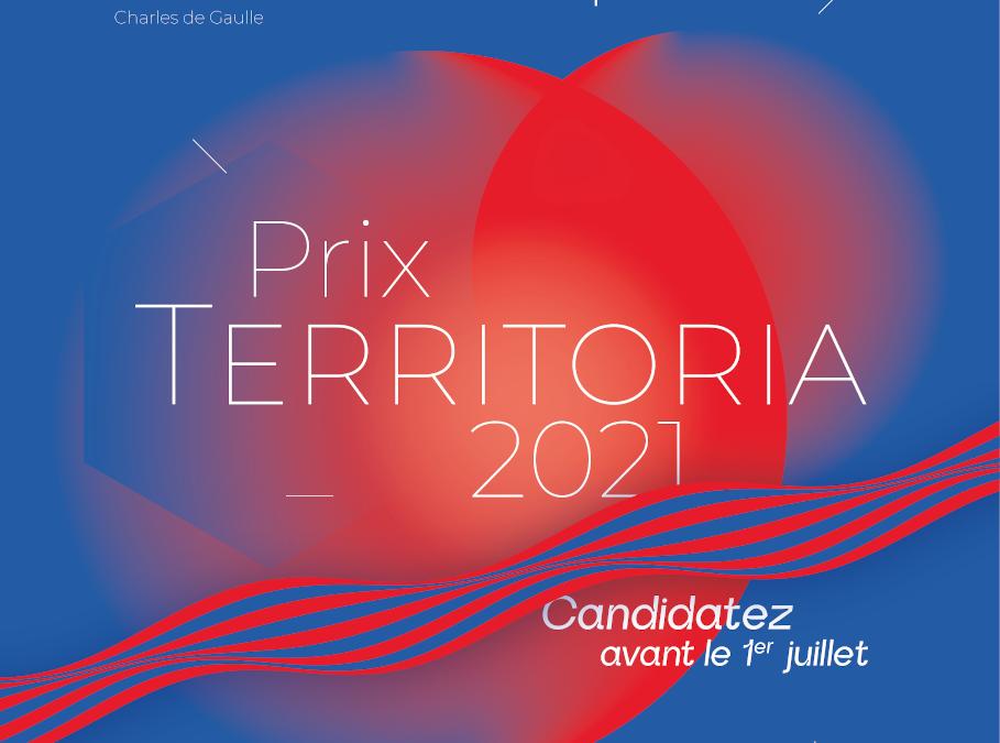 Collectivités, c'est à vous de jouer pour le Prix Territoria 2021