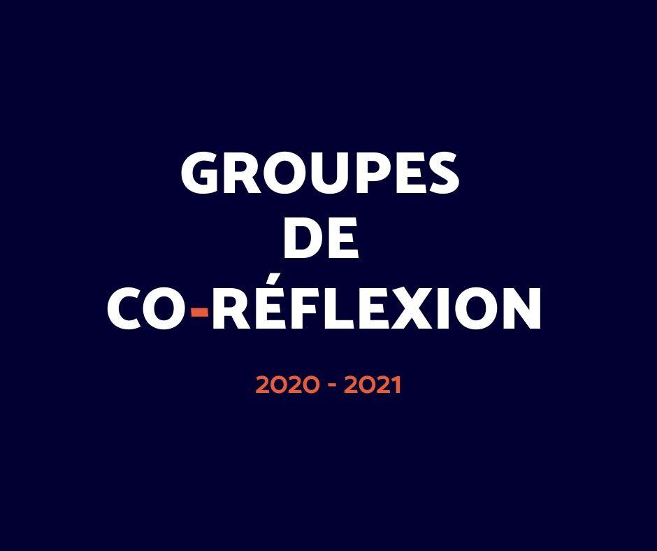 visuel Groupes de coréflexion 20-21
