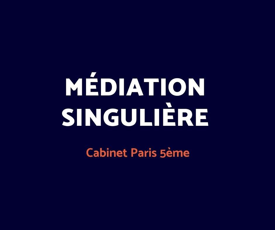 médiation singulière