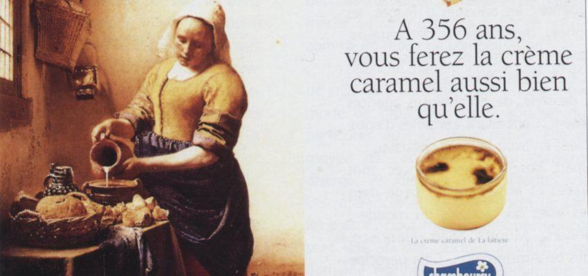 Visuel de la Publicité la laitère