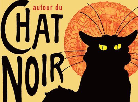 """Affiche """"Autour du Chat Noir"""""""