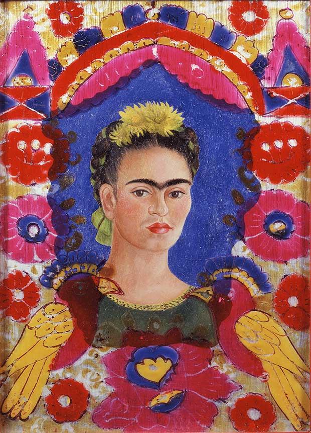 Le Cadre, Frida Kahlo, 1938